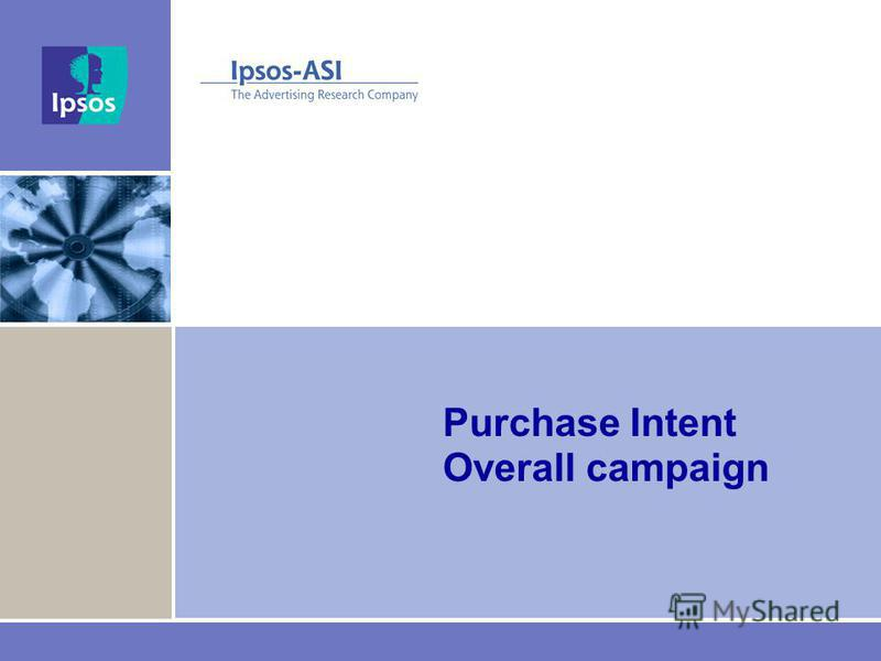 Purchase Intent Overall campaign