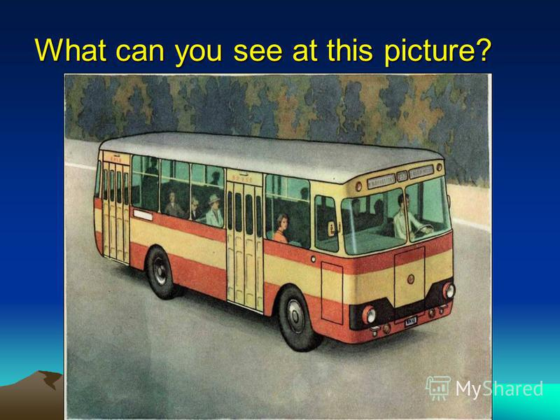 What can you see at this picture?
