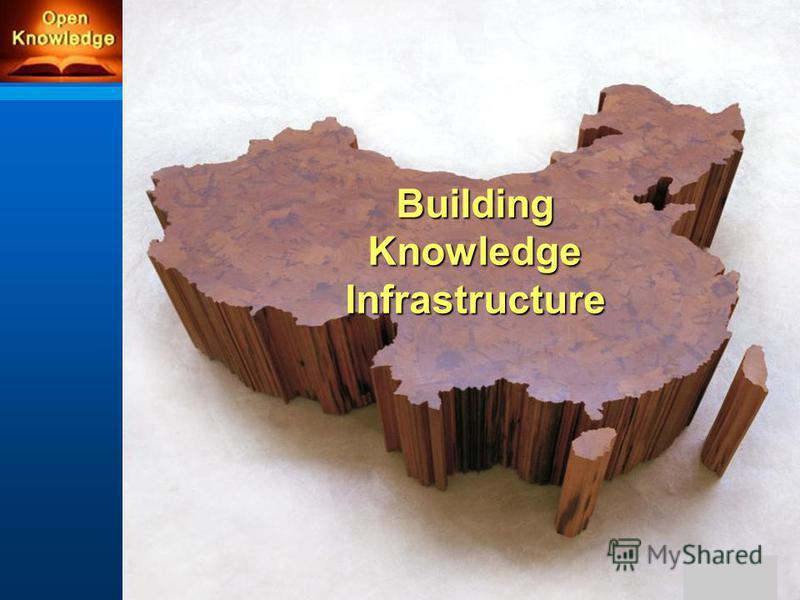 BuildingKnowledgeInfrastructure