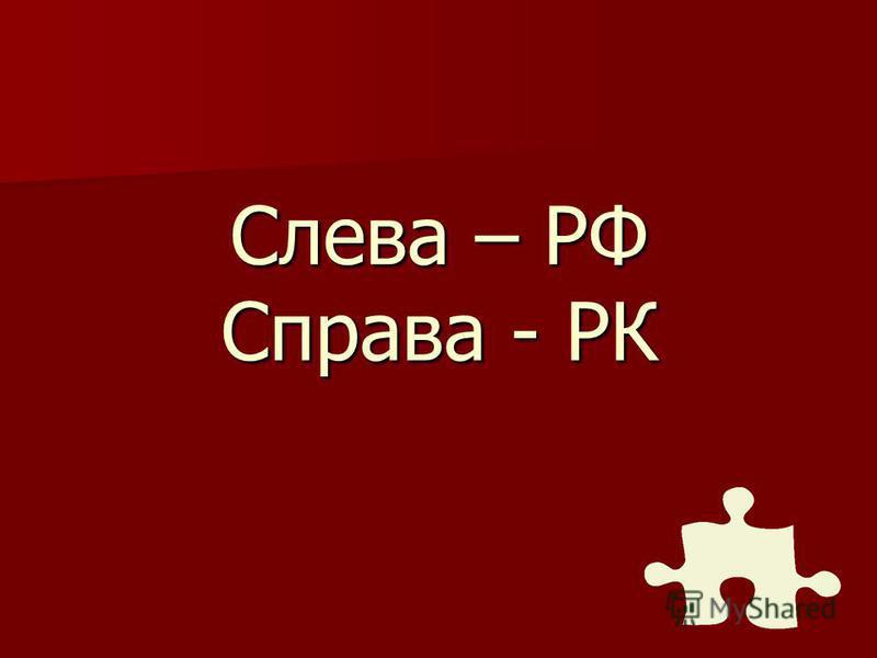 В каком порядке нужно расположить государственный флаг РФ и РК у входа в здание?