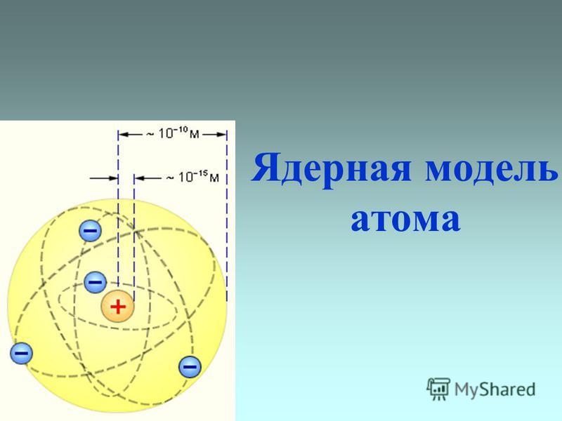 Ядерная модель атома