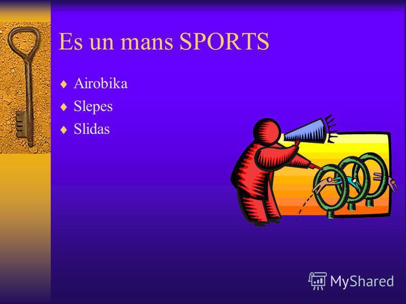 Mani hobiji: Sports Dzivnieki Cilveki Atputa