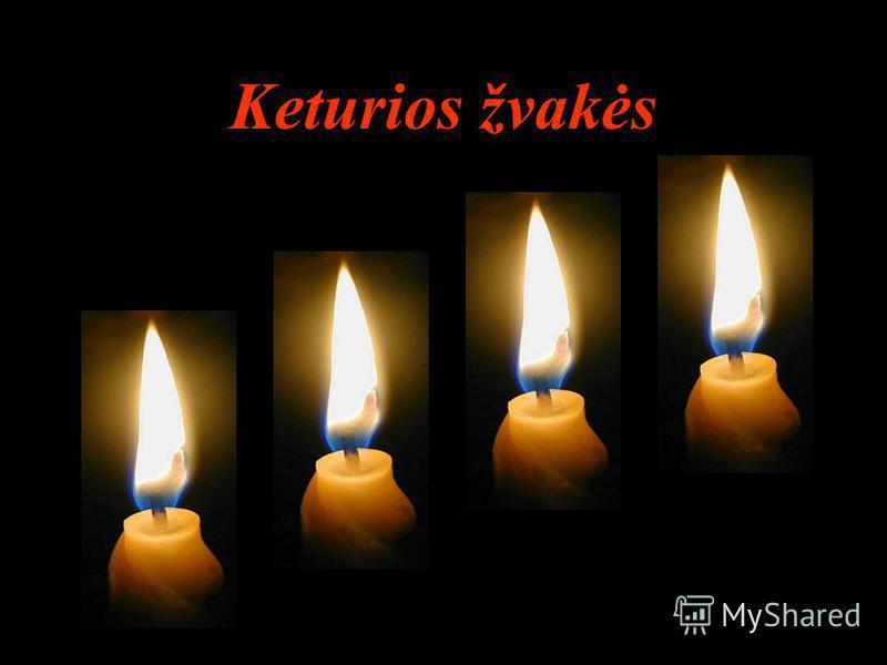 Keturios žvakės