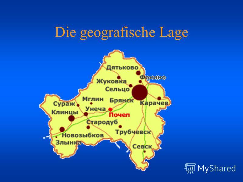 Die geografische Lage