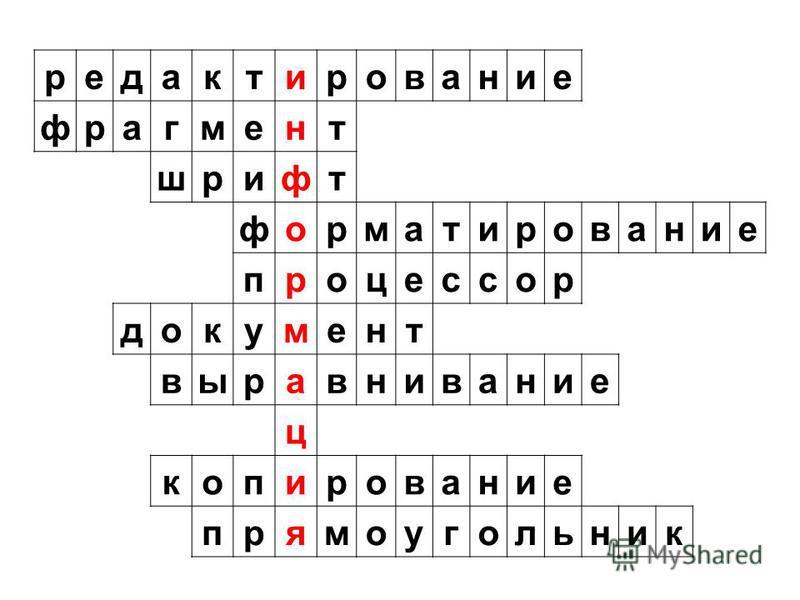 редактирование фрагмент шрифт форматирование процессор документ выравнивание ц копирование прямоугольник