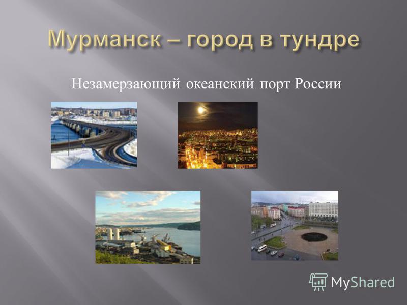 Незамерзающий океанский порт России