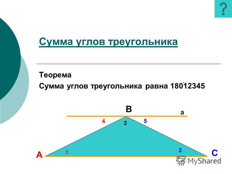 Вопросы Вопросы: 1. Дайте определение параллельных прямых.определение 2. Что такое секущая?секущая 3. Какие углы называются накрест лежащими? односторонними? соответственными?лежащими одностороннимисоответственными 4. Сформулируйте первый, второй, тр