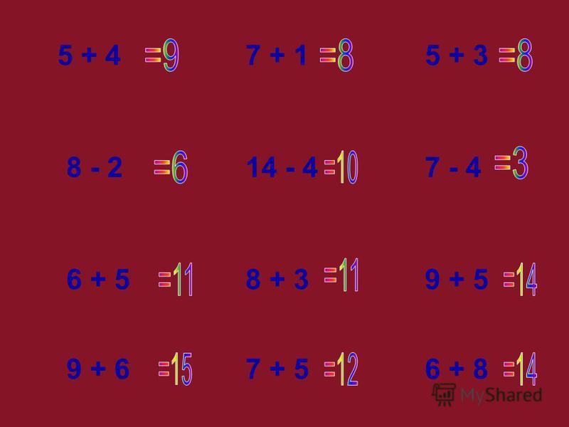 5 + 4 8 - 2 6 + 5 9 + 66 + 87 + 5 7 - 414 - 4 8 + 3 7 + 1 9 + 5 5 + 3