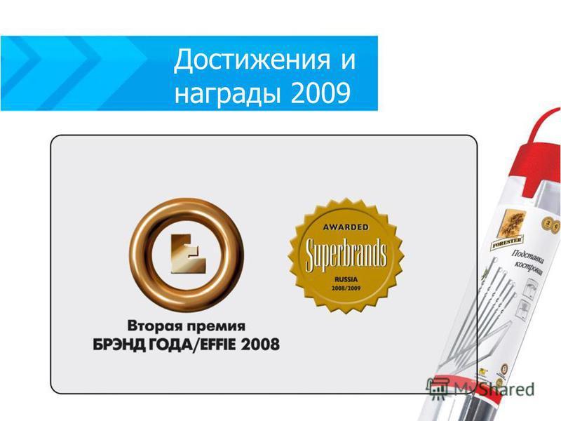 Достижения и награды 2009