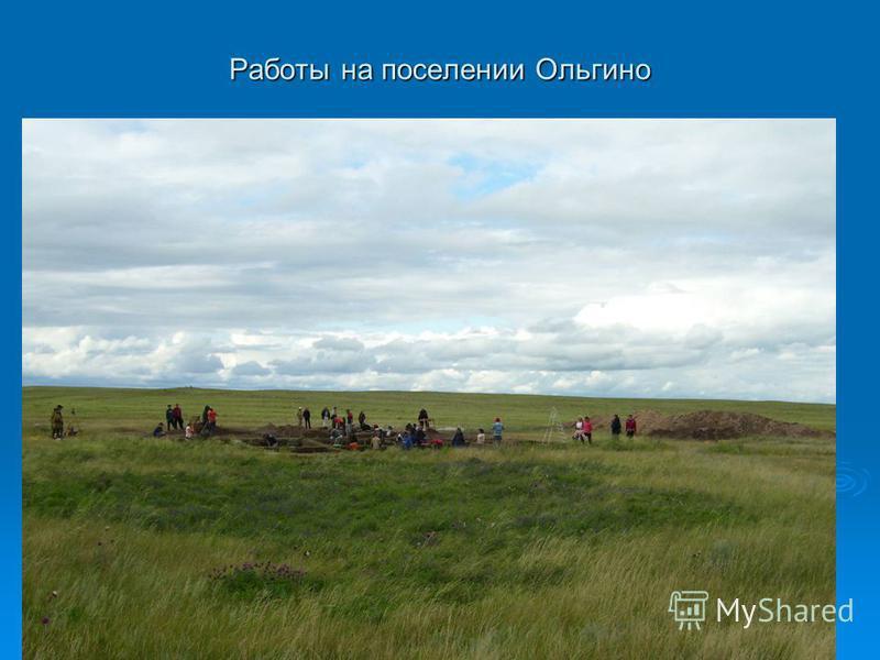 Работы на поселении Ольгино