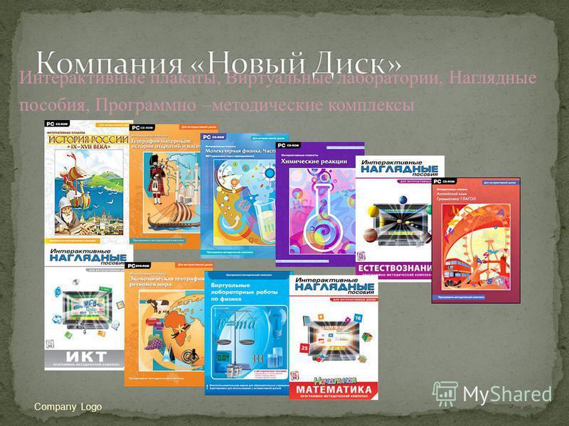 Интерактивные плакаты, Виртуальные лаборатории, Наглядные пособия, Программно –методические комплексы Company Logo