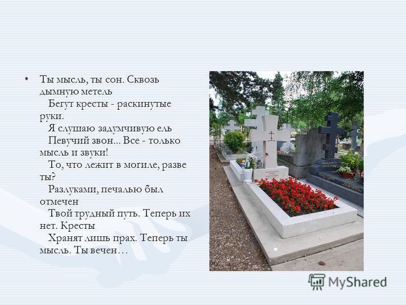 Что обозначает если тебе приснилось кладбище
