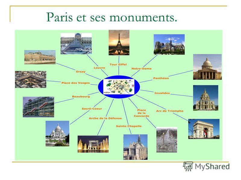 Paris et ses monuments.