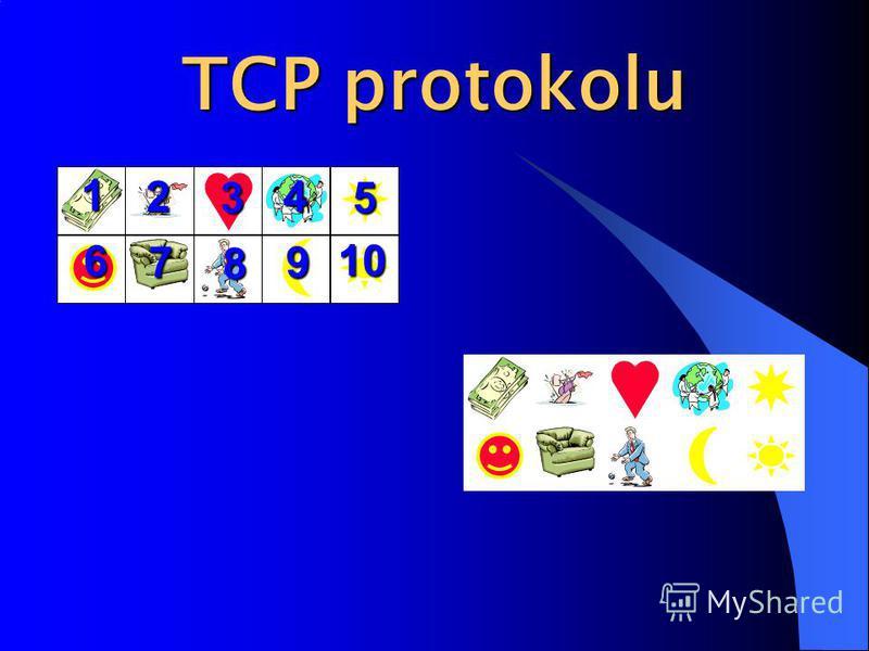 TCP protokolu 1 2 3 4 5 6 7 8 9 10
