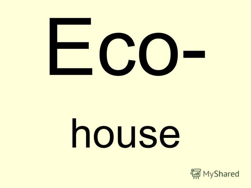 Eco- house