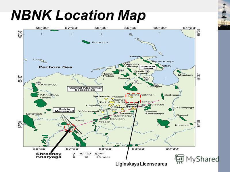 NBNK Location Map Liginskaya License area