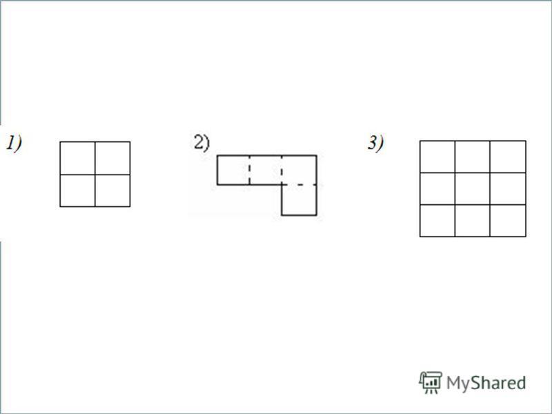 ПЛОЩАДЬ. Формула площади прямоугольника