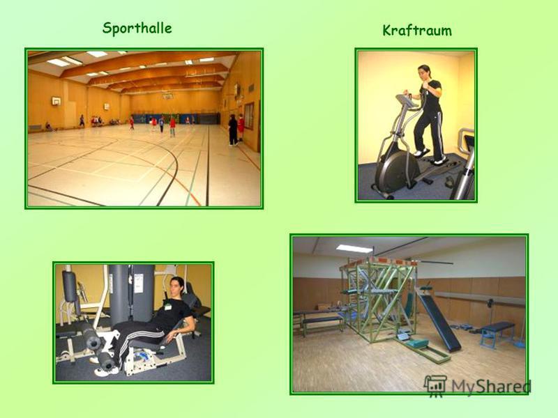 Sporthalle Kraftraum