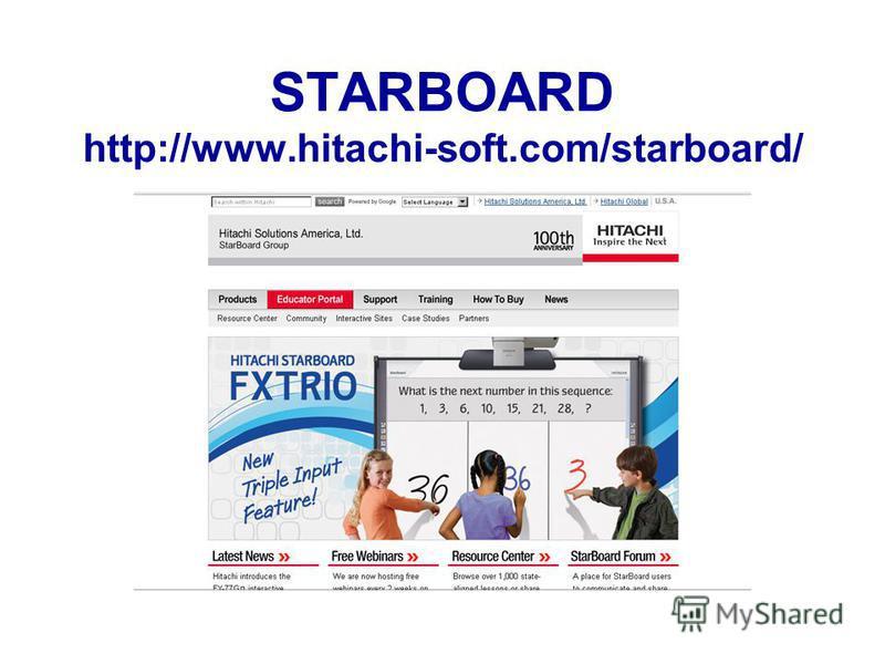 STARBOARD http://www.hitachi-soft.com/starboard/