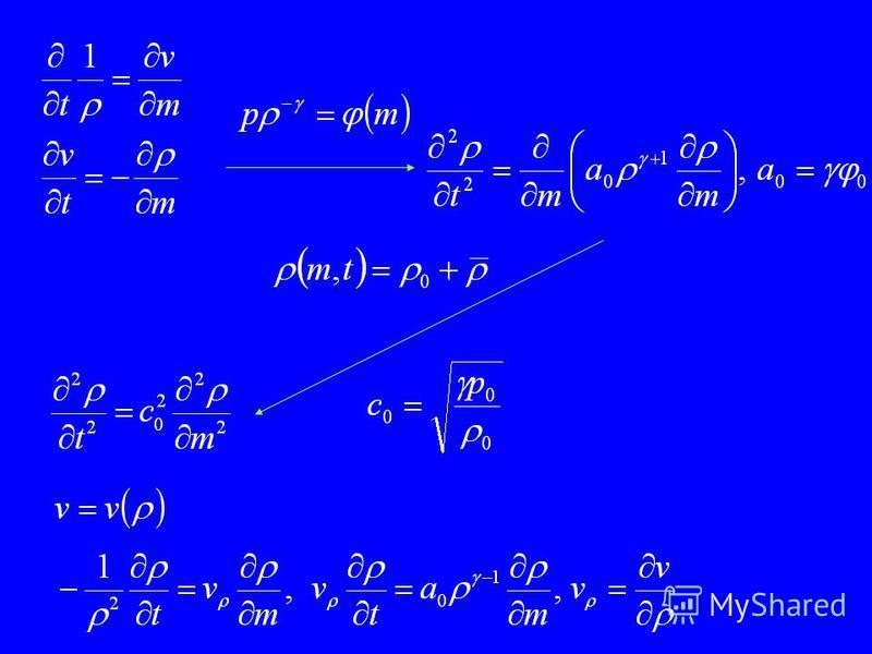 Особенности моделей газовой динамики показатель адиабаты