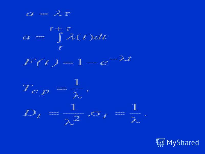 Потоки 1. Регулярный; 2. Стационапный; 3. Без последействия; 4. Ординарный Простейший поток