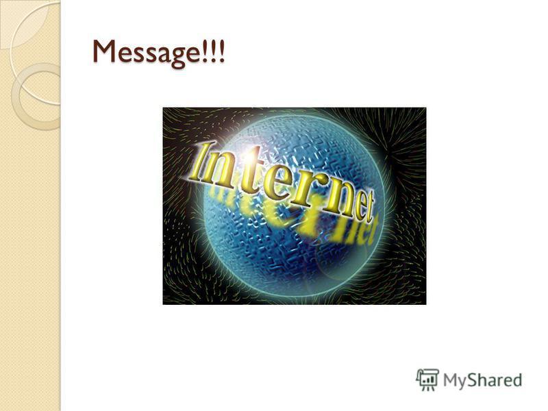 Message!!!