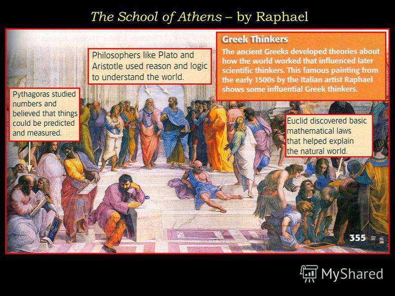 The School of Athens – by Raphael