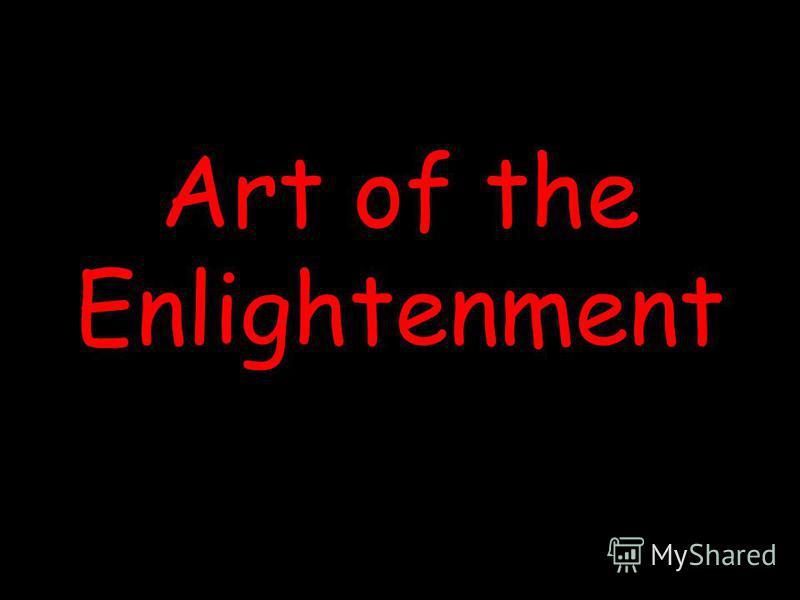 Art of the Enlightenment