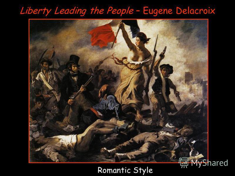 Liberty Leading the People – Eugene Delacroix Romantic Style