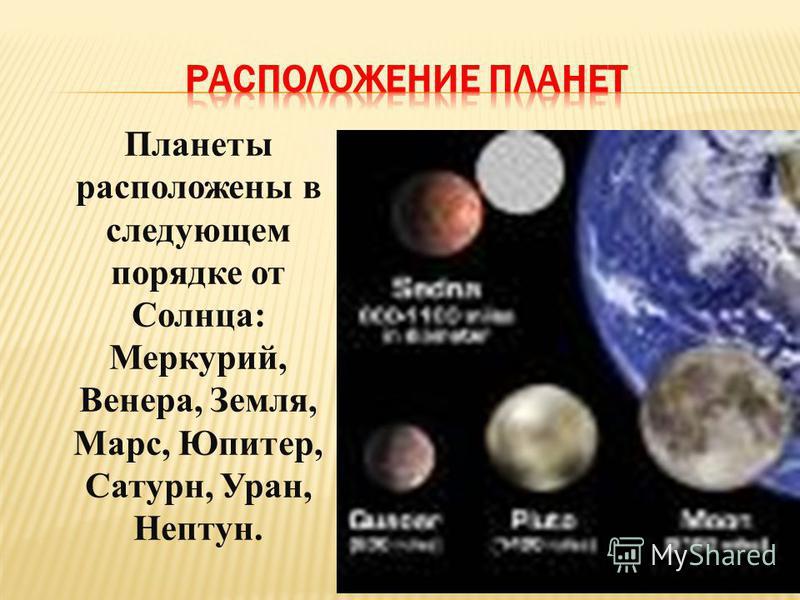 СОЛНЕЧНАЯ СИСТЕМА СОЛНЕЧНАЯ СИСТЕМА - это Солнце и движущиеся вокруг него космические тела. Кроме Солнца в состав Солнечной системы входят: большие планеты – 8; спутники планет – более 60; малые планеты(астероиды), кометы; межпланетное пространство,