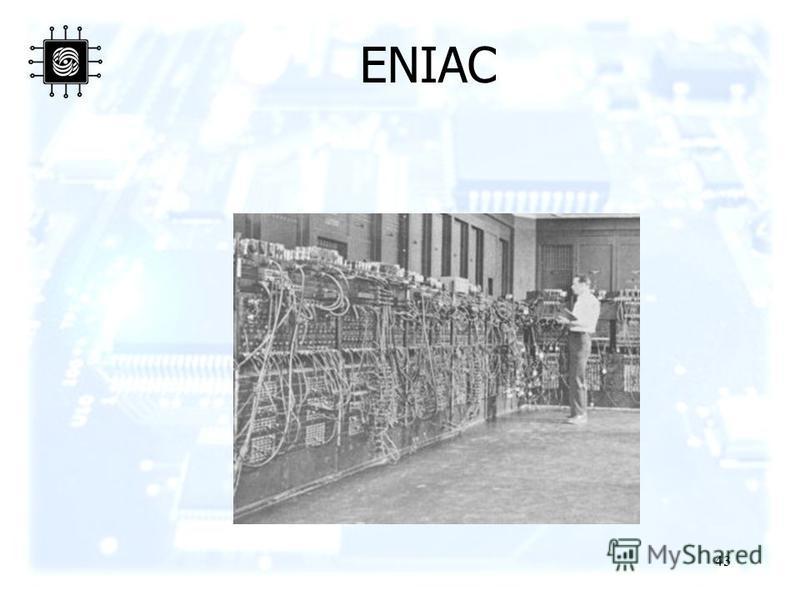 43 ENIAC