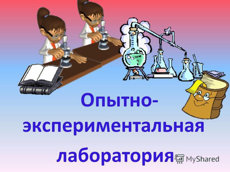 Опытно- экспериментальная лаборатория