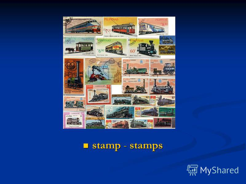 stamp - stamps stamp - stamps