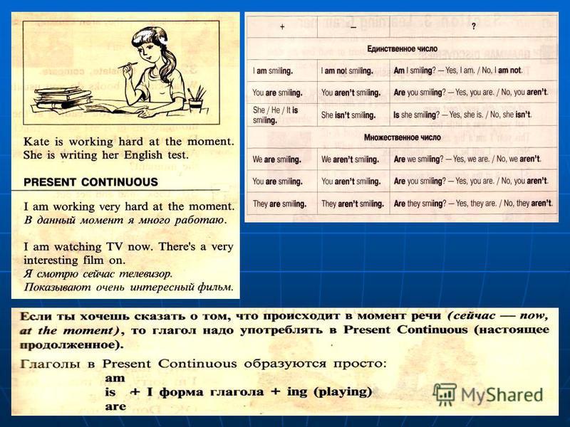 Learning Grammar The Present Continuous (Progressive) Tense