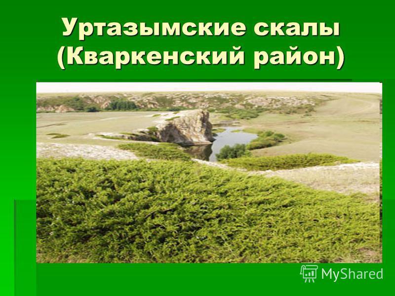 Уртазымские скалы (Кваркенский район)