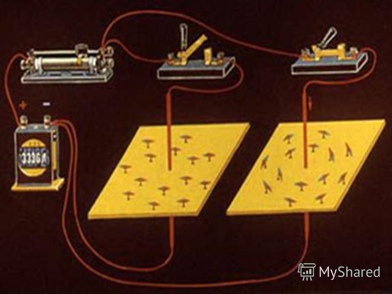 МАГНИТНОЕ ПОЛЕ ПРЯМОЛИНЕЙНОГО ТОКА В магнитном поле кусочки железа, из которых состоят железные опилки, становятся маленькими магнитными стрелочками. ЛИНИИ, ВДОЛЬ КОТОРЫХ В МАГНИТНОМ ПОЛЕ РАСПОЛОГАЮТСЯ ОСИ МАЛЕНЬКИХ МАГНИТНЫХ СТРЕЛОК, НАЗЫВАЮТСЯ СИЛО