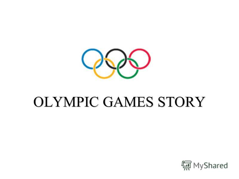 OLYMPIC GAMES STORY