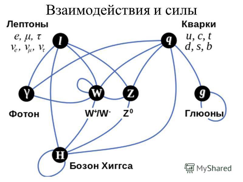 Взаимодействия и силы