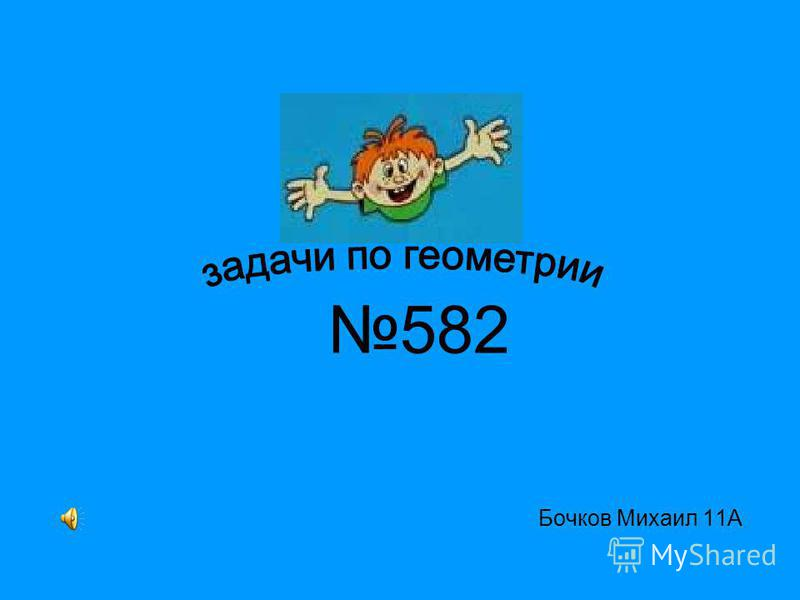 Бочков Михаил 11А 582