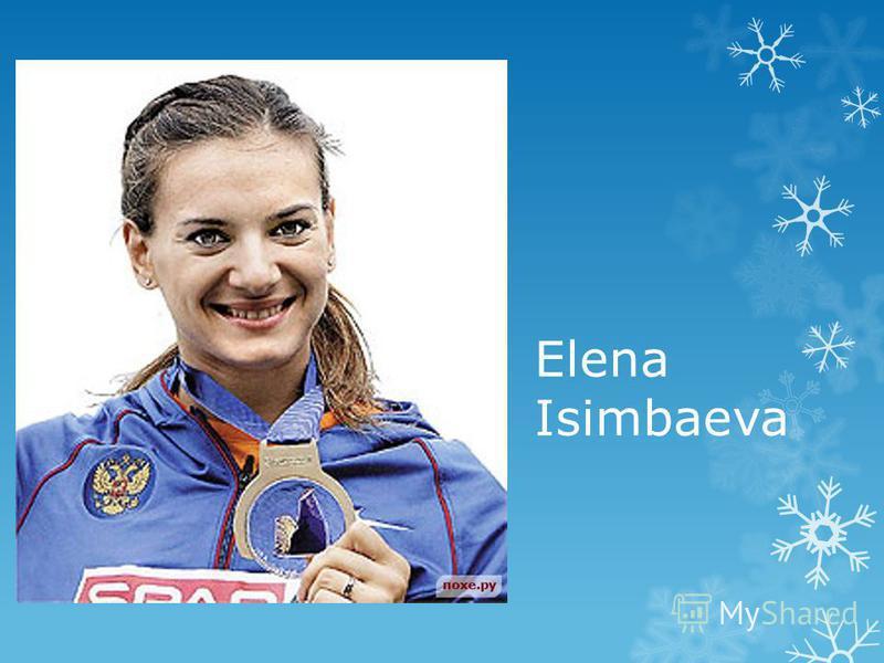 Elena Isimbaeva