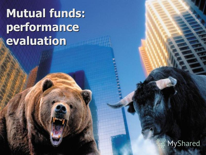 Mutual funds: performance evaluation