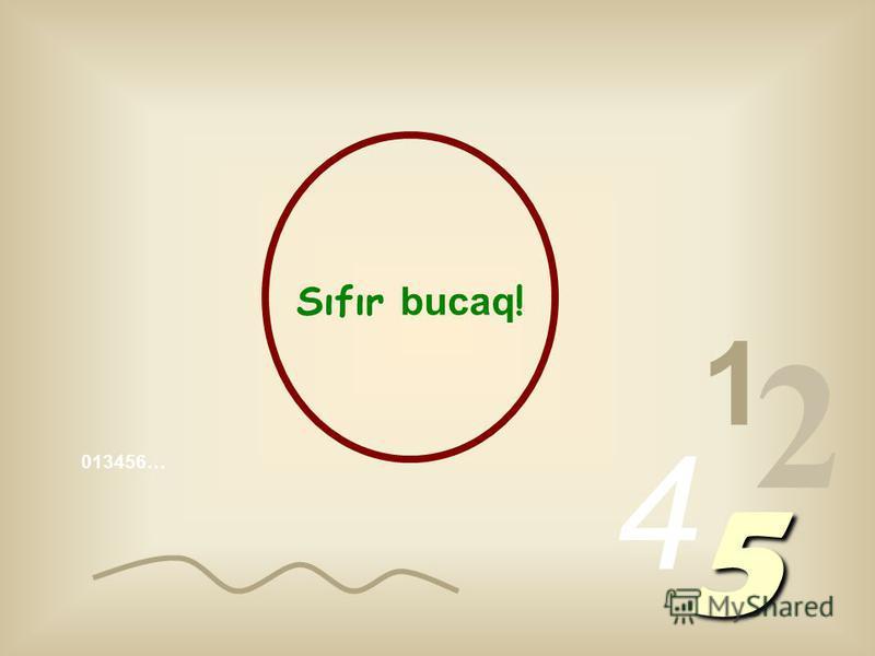 1 2 4 5 İçərilərində ən maraqlisi və diqqət çəkəni sıfırdır.