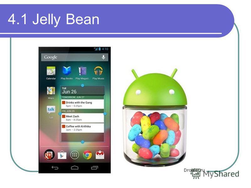 4.1 Jelly Bean
