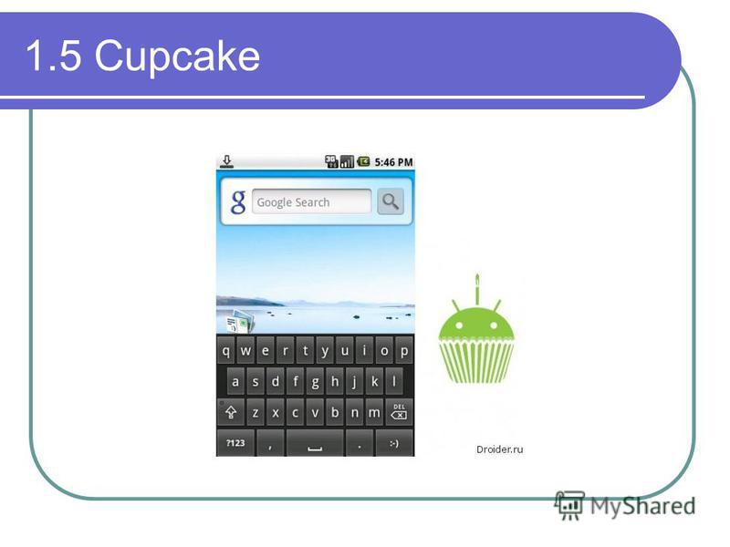 1.5 Cupcake
