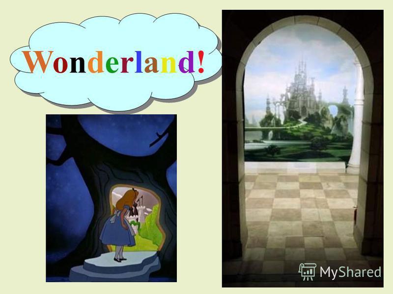Wonderland!Wonderland!
