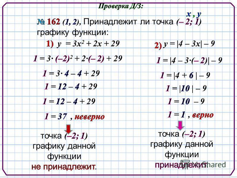 у = 3 х 2 + 2 х + 29