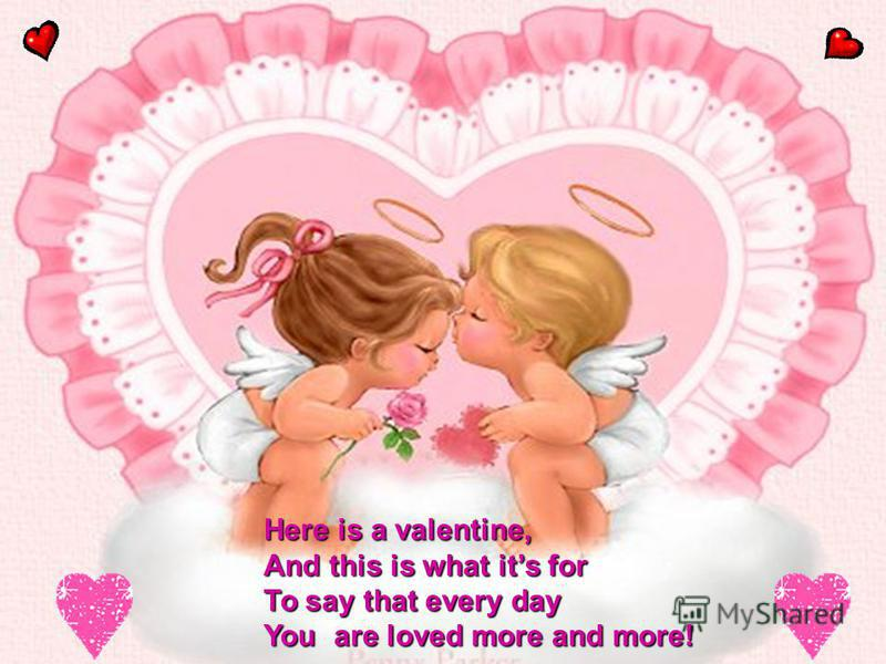 EXAMPLE of VALENTINE CARD You stole my heart! Yours Valentine To________ From ____