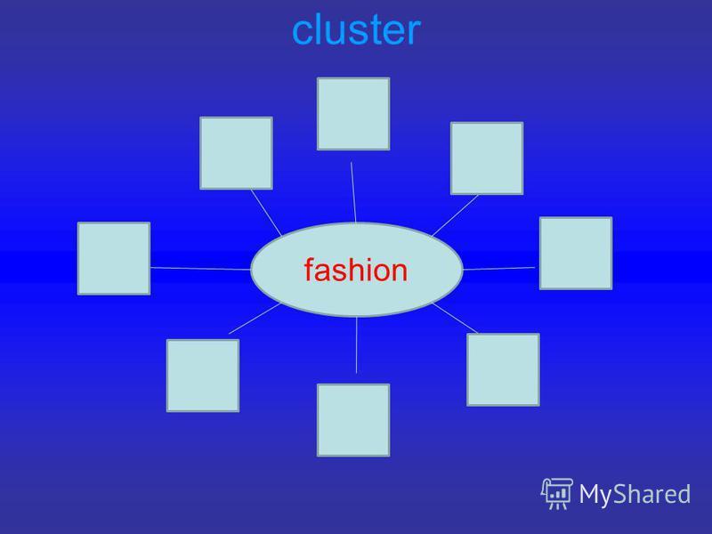 cluster fashion