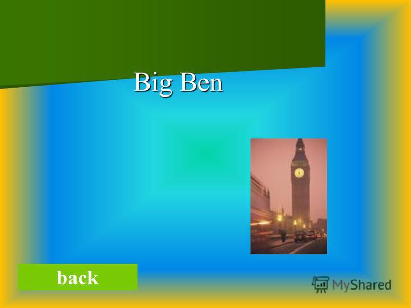 Big Ben Big Ben back
