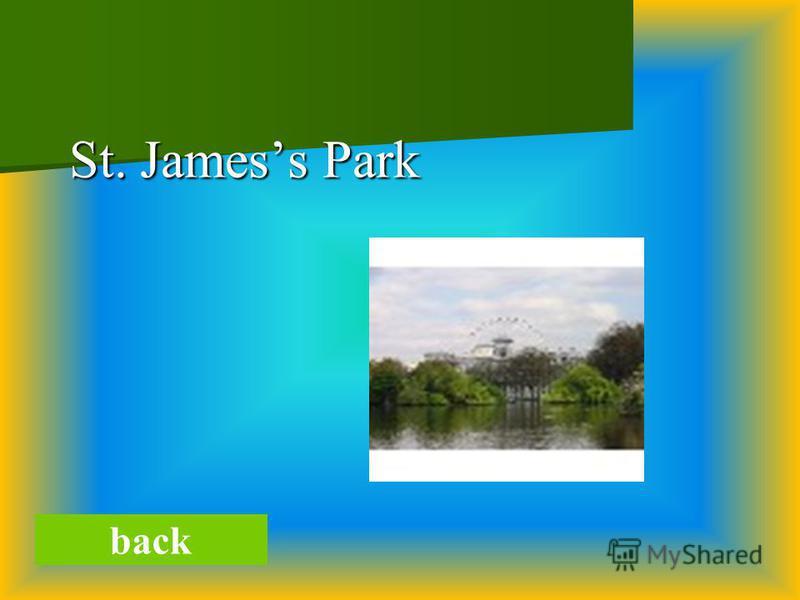 St. Jamess Park St. Jamess Park back